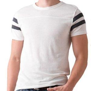 Alternative Eco Short-Sleeve Football T-Shirt Slim